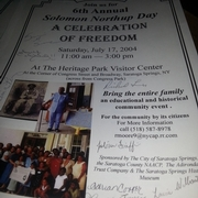 Solomon Northup Day Program For July 17, 2004