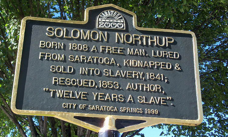 Solomon Northup Historical-Marker