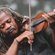 Henrique Prince- Violinist with the Ebony Hillbillies